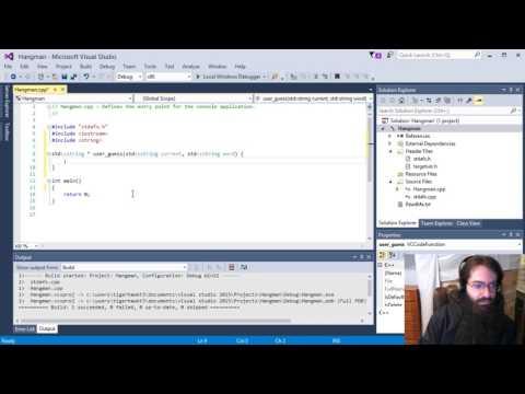 Let's Code C++: Hangman, Part 1