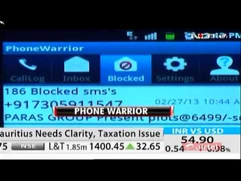 NDTV Cellguru: Phone Warrior - Block Spam Calls and SMS on Android, Blackberry and Symbian