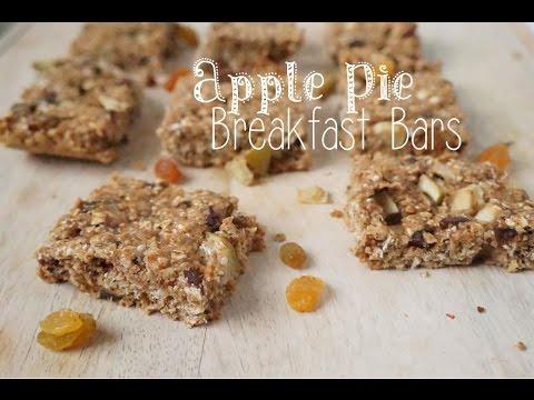 Apple Pie Breakfast Bars (gluten free)