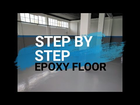 Step by step Epoxy Floor [Case Study]: How to apply from start to finish (2018)