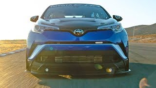 600-HP Toyota C-HR R-Tuned – HOW IT