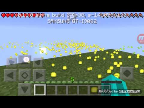How to use the bottle o' enchanting (MCPE)