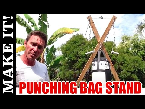 How to Make the Ultimate Punching Bag Stand - Total Stand