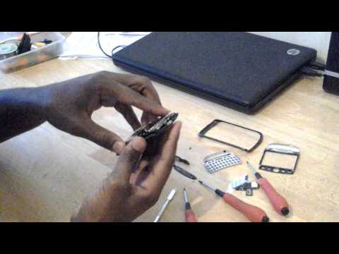 How To: Replace Blackberry 9360 Sim Port