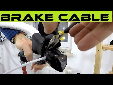 How To Replace Braking Cables Or Swap Up The Right Brake With A Left One. Road Bike Shimano Sora