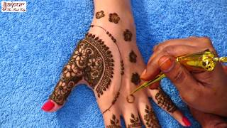 Mehndi Designs For Hands | Quick and Easy Mehndi Designs for Hands #107 @ jaipurthepinkcity