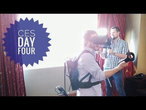 From Asus to Zotac - Juan SUCKS at VR! #CES2018 Vlog 4
