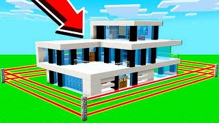 HOW TO BUILD A REDSTONE MANSION HOUSE!