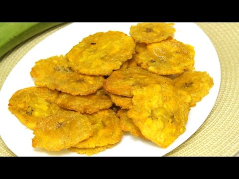 Fried Plantains Recipe (Como Hacer Tostones) Episode 102