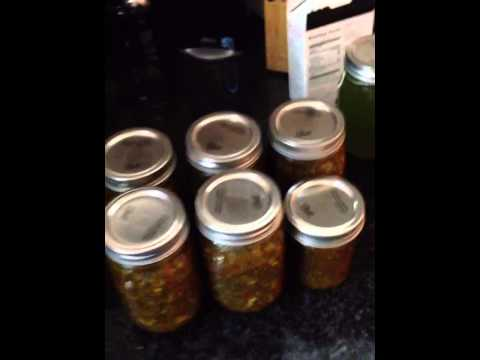 The Final Product: Sweet Pickle Relish