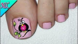Diseño De Uñas Para Pies Cebra Paso A Paso Zebra Nail Art