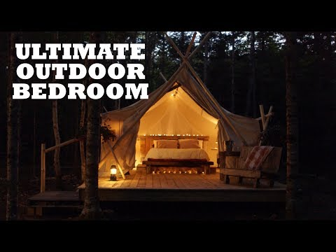 The ULTIMATE Outdoor Bedroom