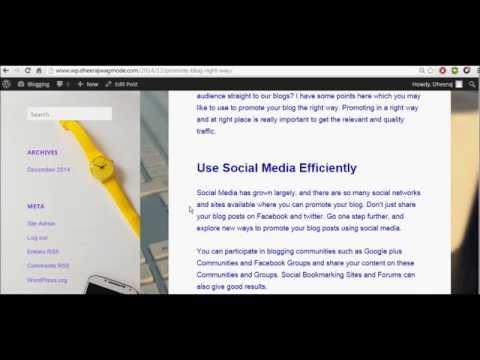 Change Text Color & Font Type | Twenty Fifteen Theme | WordPress 2015 Tutorial
