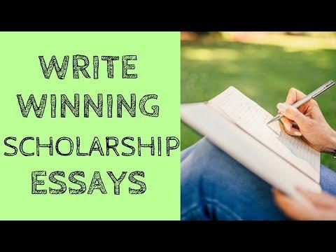 Write Winning Scholarship Essays
