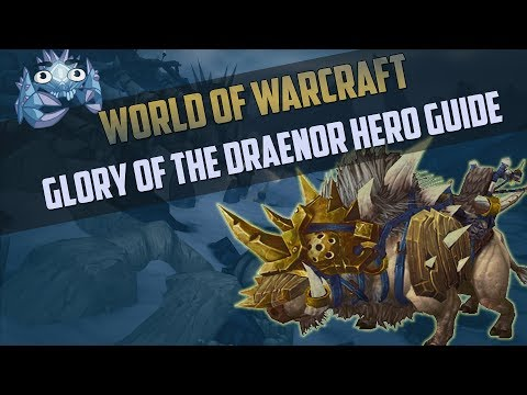 Frostplains Battleboar Guide - Glory of the Draenor Hero Achievement Guide Indepth