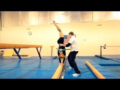 How to Walk on a Balance Beam | Gymnastics