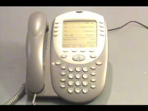 Avaya IP Office - Checking Voicemail