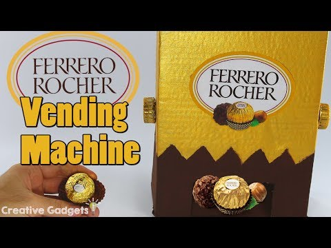 How to make Ferrero Rocher Machine