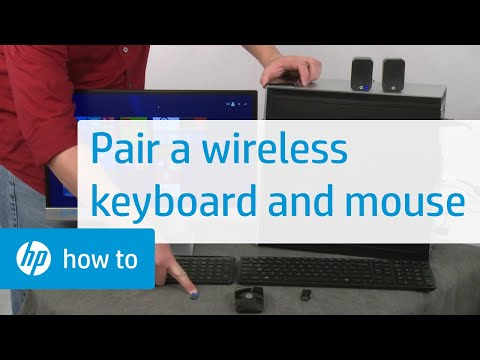 How to Pair a Wireless Keyboard and Mouse with an HP Computer