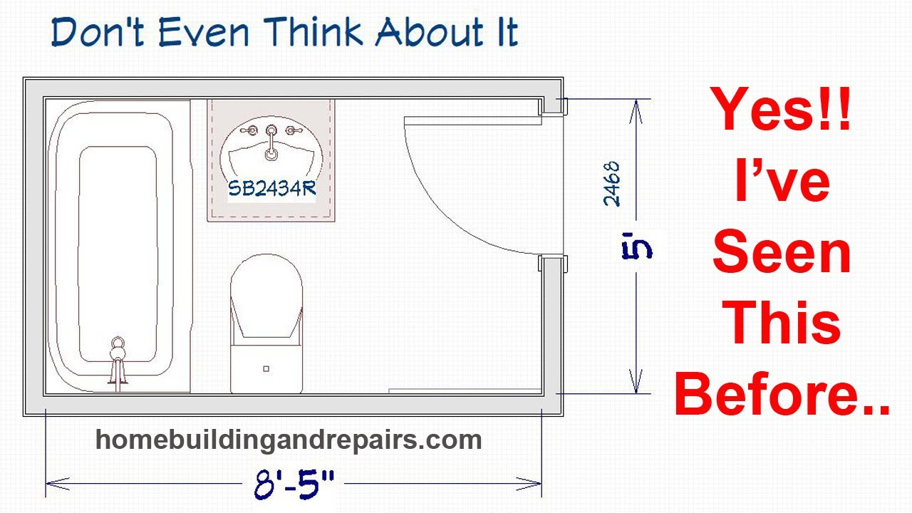 Watch This Video Before You Relocate Bathroom Fixtures - Home Remodeling Ideas