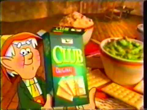 Keebler Club Crackers Commercial 2001
