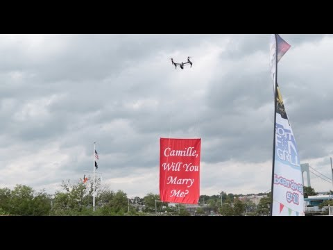 Drone Proposal: Will she say yes?