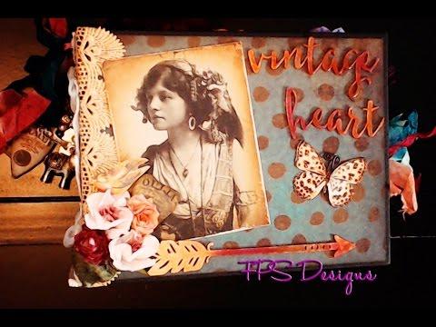 Fortune Teller gypsy mini album Design Team project