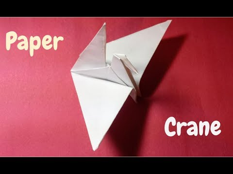 How to Make a Paper Crane| Origami Step by Step Tutorial