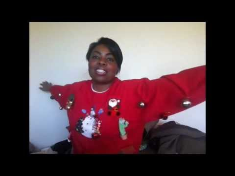 DIY: How to make an Ugly Christmas Sweater in 5 min