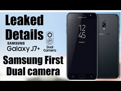 Samsung Galaxy J7 Plus Leaked Specifications,Features,Details and Price