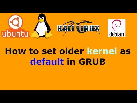 Ubuntu Linux How to set older kernel as default in GRUB