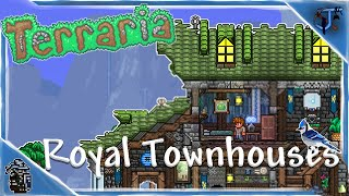 Royal Townhouses | Terraria Speed Build