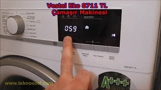 Download Vestel EKO 8711 TL A+++ 8 kg Çamaşır Makinesi İnceleme u Video