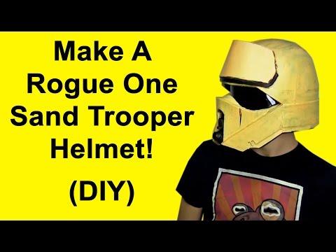 How to Make a Rogue One Shoretrooper Helmet (DIY)