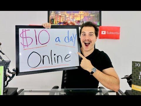 10 Ways to Make $10 a Day Online