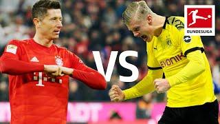 Robert Lewandowski vs. Erling Haaland   Record-Breaking Strikers go Head to Head