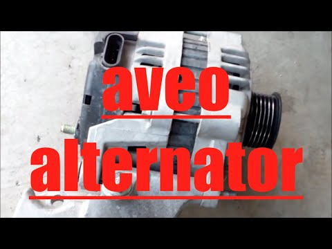 How to replace alternator generator Chevy Aveo √