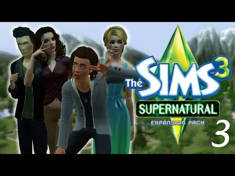 Let's Play: the Sims 3 Supernatural - (Part 3) - Werewolf Transformation