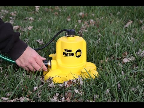 WAYNE Pumps WWB WaterBUG Submersible Pump