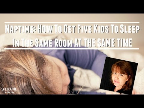 How To Get All Your Daycare Kids To Sleep At The Same Time!