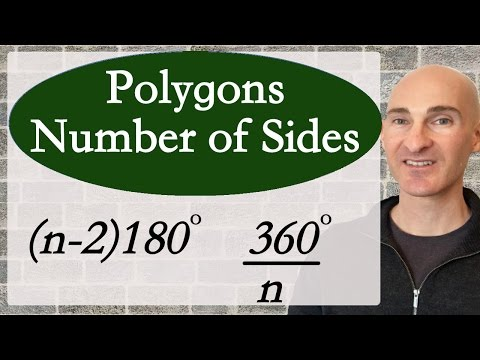 Polygons Finding Number of Sides