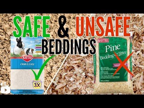 SAFE AND UNSAFE HAMSTER BEDDINGS + alternatives!