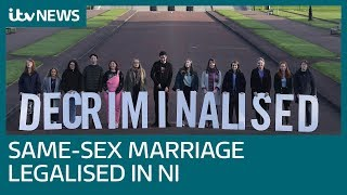 Same-sex marriages likely to take place in Northern Ireland by Valentine's Day | ITV News