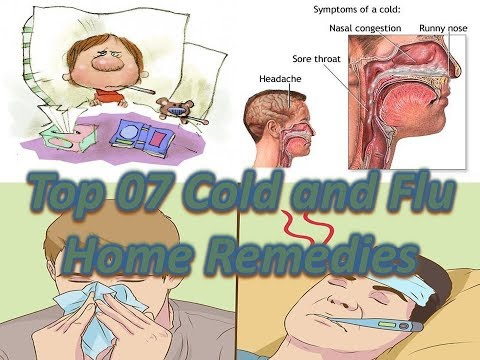 Top 7 cold and flu home remedies