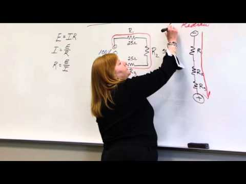Series & Parallel Circuits & Ohm's Law Physics, part 4 - Eeris Fritz