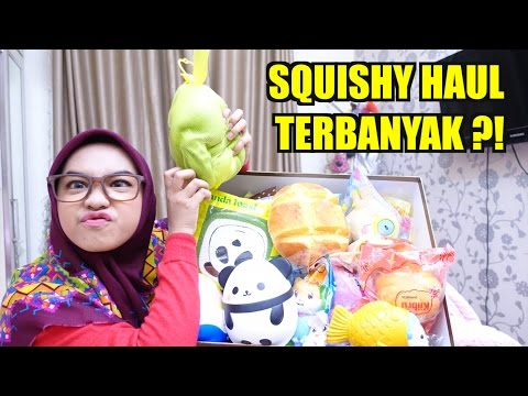 SQUISHY HAUL! BIGGEST SQUISHY PACKAGE - Ria Ricis