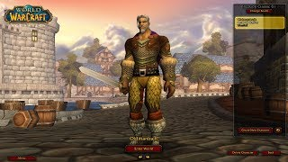Bajheera - Classic WoW: Level 19 Warrior Duels (Part 1) - World of Warcraft Vanilla Demo