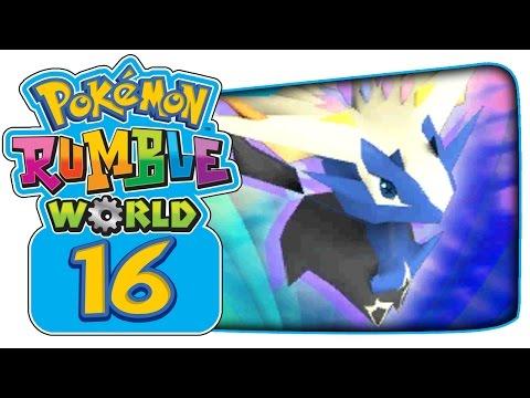 Pokémon Rumble World - Part 16: Fairy Balloon & Obtaining Mega Evolution!
