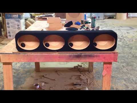 4 Rockford Fosgate Punch 6x9 Box for the Back Deck