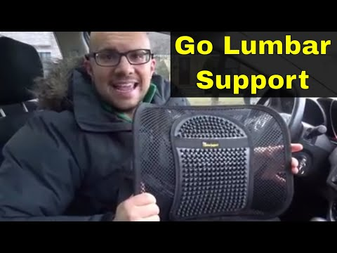 Go Lumbar Support Review-Great For Office Chairs And Car Seats